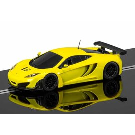 Scalextric McLaren 12C GT3 Yellow Scalextric 1:32 Scale Slot Car