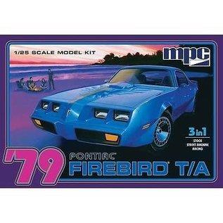MPC 1979 Pontiac Firebird T/A 3N1 MPC 1:25 Scale Plastic Model Kit