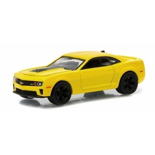 Greenlight Collectibles 2013 Chevrolet Camaro ZL1 in Yellow Greenlight GL Muscle Series 13 1:64 Scale Diecast Model Car