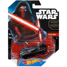 Hot Wheels HW Star Wars Kylo Red Mattel 1:64 Scale Diecast Model Car