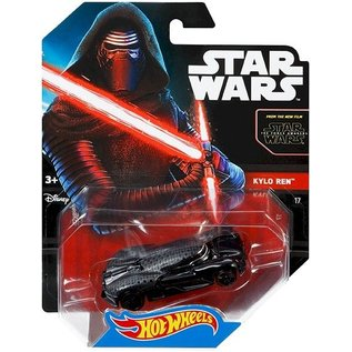 Hot Wheels HW Star Wars Kylo Red Mattel 1:64 Scale Diecast Model Car