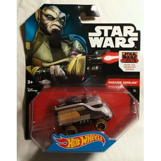 Hot Wheels HW Garazeb Orrelios Star Wars Rebels Animated Series Mattel 1:64 Scale Diecast Model Car