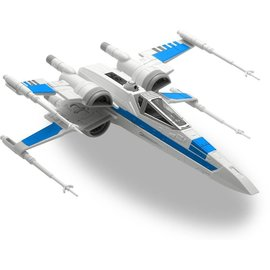 Revell-Monogram RMX Revell Star Wars Resistence X-Wing Fighter Build And Play Snap Tite Model Kit