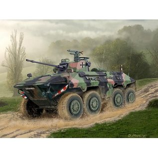 Revell SpSx2 Luchs A2 Military Vehicle Revell 1:72 Scale Plastic Model Kit