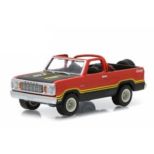 Greenlight Collectibles 1978 Dodge Ramcharger Orange All Terrain Series 1 Greenlight 1:64 Diecast Model Car