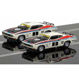 Scalextric 1977 ATCC Ford XB Falcons 2 Car Set Scalextric Legends 1:32 Scale Slot Cars