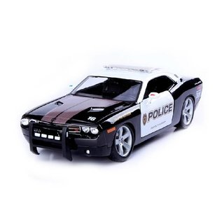 Maisto 2006 Dodge Challenger Concept Police Vehicle Maisto 1:18 Scale Diecast Model Car