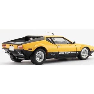Kyosho De Tomaso Pantera GTS Yellow Kyosho 1:18 Scale Diecast Model Car