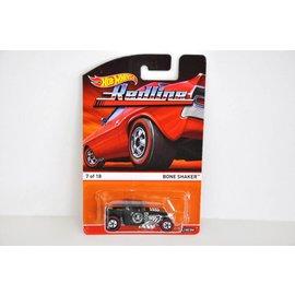 Hot Wheels Hot Wheels Bone Shaker Green Redline Series Mattel 1:64 Diecast Car