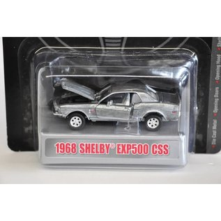 Carroll Shelby Collectibles Shelby Collectibles 1968 Shelby EXP500 CSS Raw Zamac 1:64 Diecast Model Car