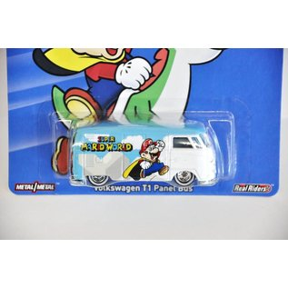 Hot Wheels Hot Wheels Volkswagen T1 Panel Bus Super Mario World Mario Bros. Series Mattel 1:64 Diecast Car