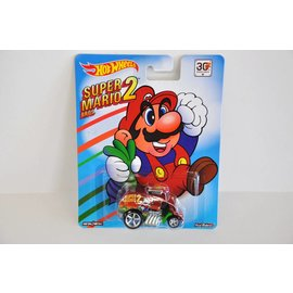 Hot Wheels Hot Wheels Cool One Super Mario Bros. 2 Mario Bros. Series Mattel 1:64 Scale Diecast Model Car