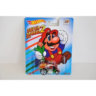 Hot Wheels Hot Wheels Cool One Super Mario Bros. 2 Mario Bros. Series Mattel 1:64 Scale Diecast Model Car