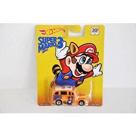 Hot Wheels Hot Wheels School Busted Super Mario 3 Mario Bros. Series Mattel 1:64 Scale Diecast Model Car