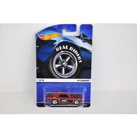 Hot Wheels Hot Wheels 1969 Chevy Camaro Red Real Riders Mattel 1:64 Diecast Model Car