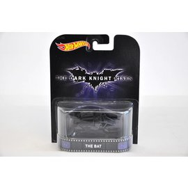 Hot Wheels Hot Wheels The Bat the Dark Night Rises Retro Entertainment Mattel 1:64 Diecast Model Car
