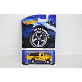 Hot Wheels Hot Wheels Texas Drive Em Yellow Real Riders Series Mattel 1:64 Scale Diecast Model Car