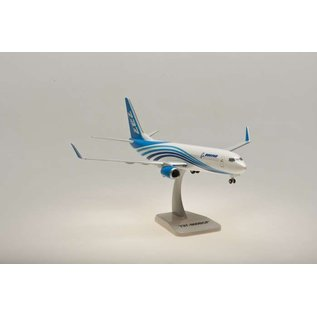 Hogan Wings Boeing B737-800BCF House With Landing Gear Hogan Wings 1:200 Scale Plastic Model Airplane