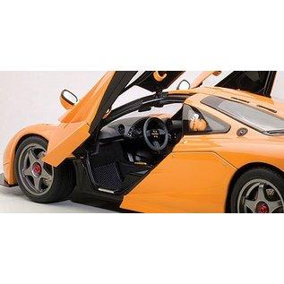 Auto Art McLaren F1 LM Edition Orange Auto Art 1:18 Scale Diecast Model Car