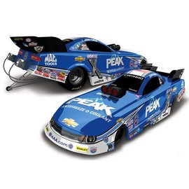 Action Racing Collectibles 2015 Chevy Camaro Peak Funny Car NHRA John Force Action 1:64 Scale Diecast Model Car