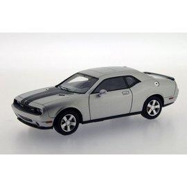 PremiumX Models 2009 Dodge Challenger SRT8 Silver Premium X Models 1:43 Scale Diecast Model Car