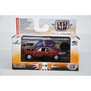 M2 Machines M2 2015 SEMA 1969 Plymouth Road Runner Red/Brown 1:64 Scale Diecast Model Car