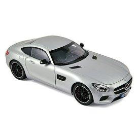 Norev Norev Mercedes Benz AMG GT Matt Silver 1:18 Scale Diecast Model Car