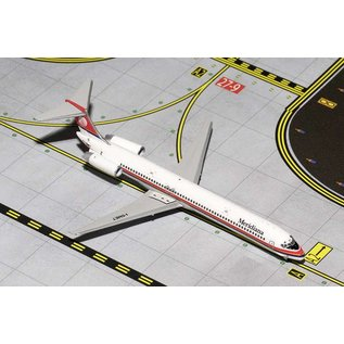 Gemini Jets Gemini Jets Meridiana Airlines McDonnell Douglas MD-80 1:400 Scale Diecast Model Airplane
