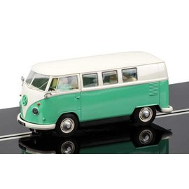 Scalextric Scalextric Volkswagen Camper Van Turquoise 1:32 Scale Slot Car