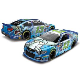 Action Racing Collectibles 2015 Chevy SS #13 Geico Squidward Casey Mears Action 1:24 Scale Diecast Model Car