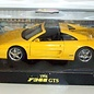 Hot Wheels Hot Wheels Ferrari F355 GTS Yellow 1:18 Scale Diecast Model Car