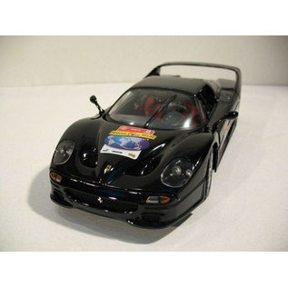 Hot Wheels Hot Wheels Ferrari F50 Black 60th Anniversary Of Ferrari 1:18 Scale Diecast Model Car