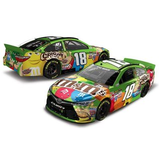 Action Racing Collectibles Action 2015 Toyota Camry #18 M&M's Kentucky Win Kyle Busch Nascar 1:24 Scale Diecast Model Car