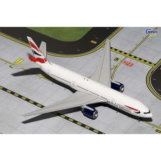 Gemini Jets Gemini Jets British Airways Boeing B777-200ER 1:400 Scale Diecast Model Airplane