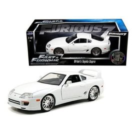 Jada Toys Jada Toys Brian's Toyota Supra White Fast & Furious 1:18 Scale Diecast Model Car