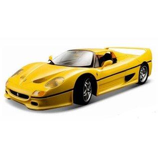 Bburago Bburago Ferrari F50 Yellow 1:18 Scale Diecast Model Car