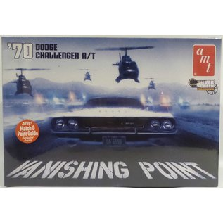 AMT AMT 1970 Dodge Challenger R/T Vanishing Point 1:25 Scale Plastic Model Kit