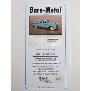Bare Metal Foil BARE METAL FOIL - NEW IMPROVED CHROME
