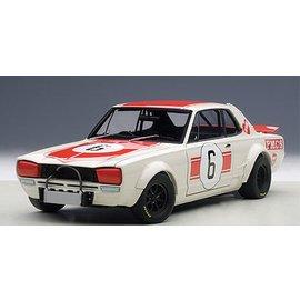 Auto Art Auto Art Nissan Skyline GTR #6 Japan GP Winner 1971 1:18 Scale Diecast Model Car