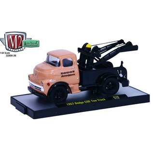 M2 Machines M2 Machines 1957 Dodge COE Tow Truck Dodge Power Giants 1:64 Scale Diecast Model Car