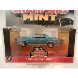 RC2 (Racing Champions) Racing Champions Mint 1965 Pontiac GTO Blue 2016 Series 1:64 Scale Diecast Model Car