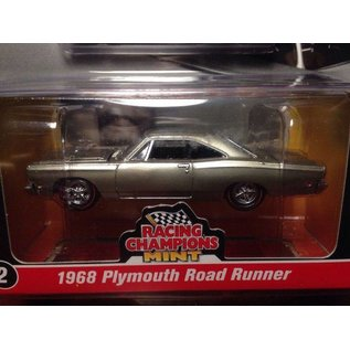RC2 (Racing Champions) Racing Champions Mint 1968 Plymouth Road Runner Silver 2016 Series 1:64 Scale Diecast Model Car
