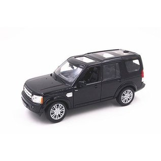 Welly Die Casting Welly Land Rover Discovery 4 Black 1:24 Scale Diecast Model Car