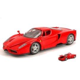 Bburago Bburago Ferrari Enzo Red 1:24 Scale Diecast Model Car