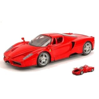 Bburago Bburago Ferrari Enzo Red 1:24 Scale Diecast Model Car