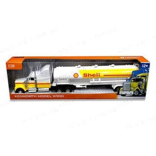 Automaxx Collection Automaxx Collection Kenworth W900 Shell Tanker 1:32 Scale Diecast Model Truck