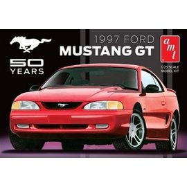 AMT AMT 1997 Ford Mustang GT 50 Years 1:25 Scale Plastic Model Kit