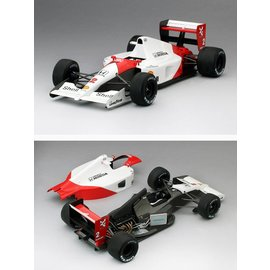 True Scale Miniatures TSM Model 1989 McLaren MP4/5 #1 Monaco Grand Prix GP Winner Aryton Senna 1:18 Scale Resin Model