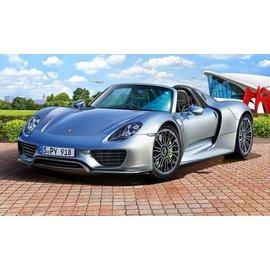 Revell Revell Europe Porsche 918 Spyder Skill Level 4 1:24 Scale Plastic Model Kit