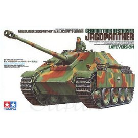 Tamiya Tamiya German Tank Destroyer Jagdpanther Late Version 1:35 Scale Plastic Model Kit